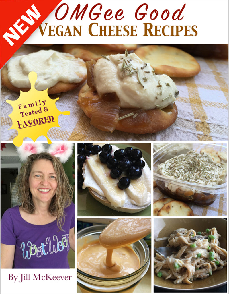 OMGee Good Vegan Cheese Recipes