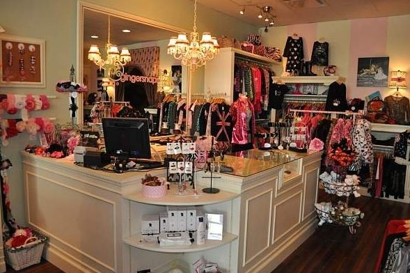Gingersnaps Kids Retail Store Inside