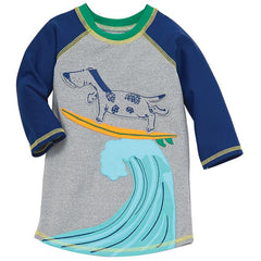Mud Pie Surfing Dog Rash Guard Swim Top |PREORDER|