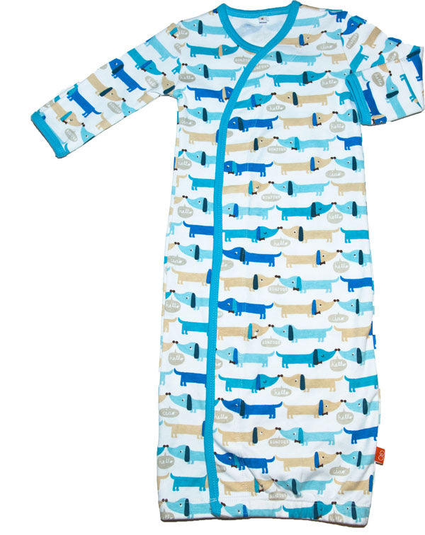 Magnetic Me Blue Hot Dog Gown |PREORDER|