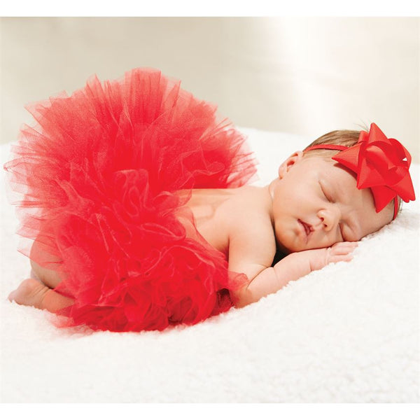 Mud Pie Red Tutu (Size 0-3months)