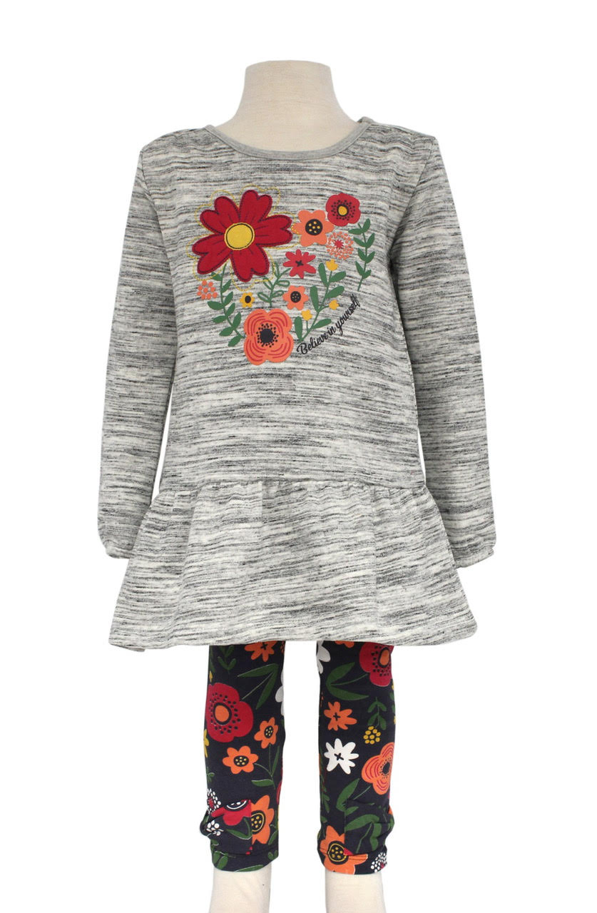 Bonnie Jean Heart Applique Tunic |PREORDER|