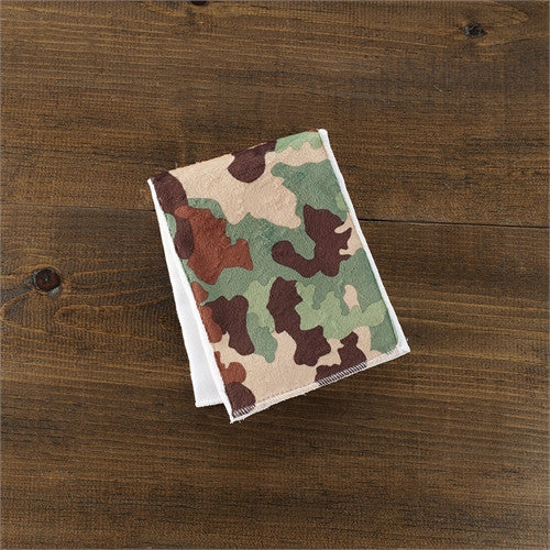 Mud Pie Camo Burp Cloth