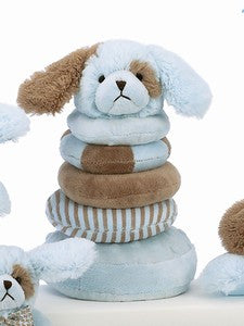 "The Bearington Collection Dog Plush ""Waggles"" Stacker"