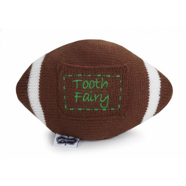 Mud Pie Tooth Fairy Football Pillow