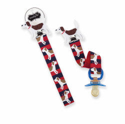 Mud Pie Little Buddy Pacy Clip