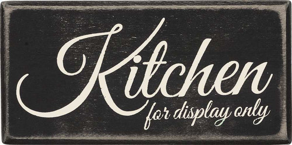Box Sign - Kitchen For Display Only | PREORDER