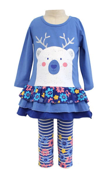 Bonnie Jean Polar Bear Tunic with Leggings |PREORDER|