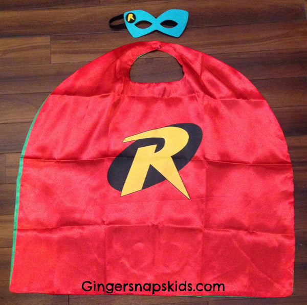 Robin Super Hero Cape and Mask Set