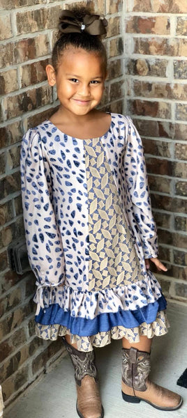 Isobella & Chloe Marina Dress-Girls | FALL 2018 PREORDER