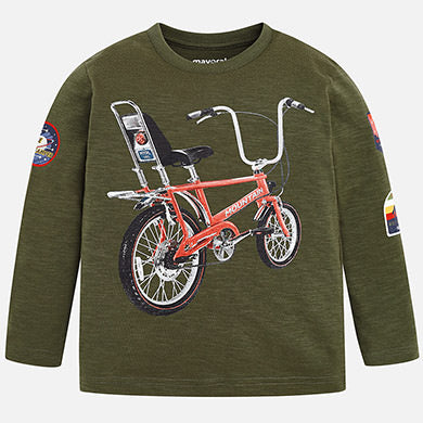 Mayoral Long Sleeve Bicycle Shirt