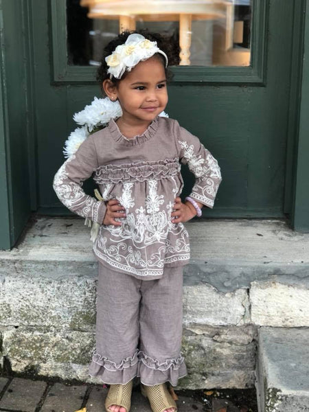 Isobella & Chloe Gracie 2 Piece Set-Toddler | FALL 2018 PREORDER