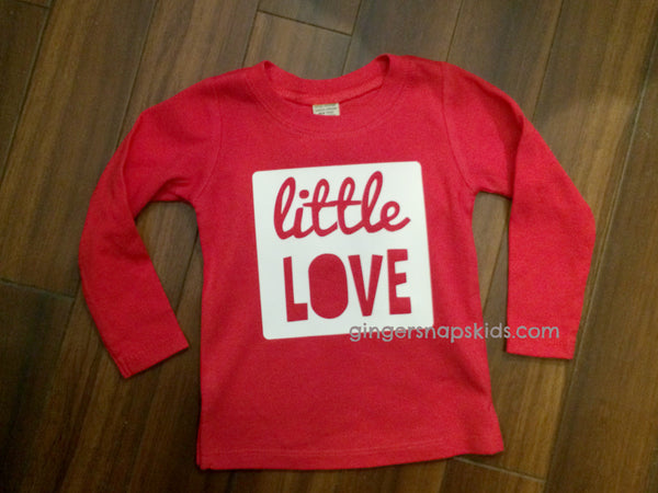 Little Love Long Sleeve Shirt sz 6m-24m