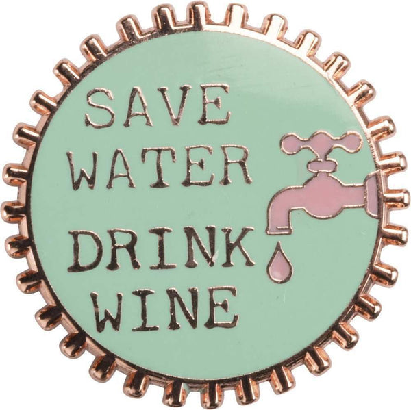 Enamel Pin - If I Ever Go Missing Drink Wine | PREORDER