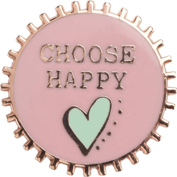 Enamel Pin - Choose Happy | PREORDER