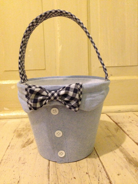 Mud Pie Bow Tie Easter Basket