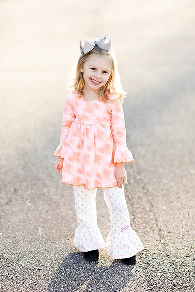 Ruffle Girl Erin Rose Pant Set