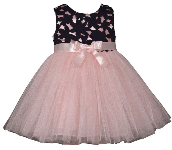 Bonnie Jean Scuba To Simmer Ballerina Dress