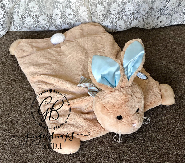 Bunny Tail Belly Blanket from The Bearington Collection