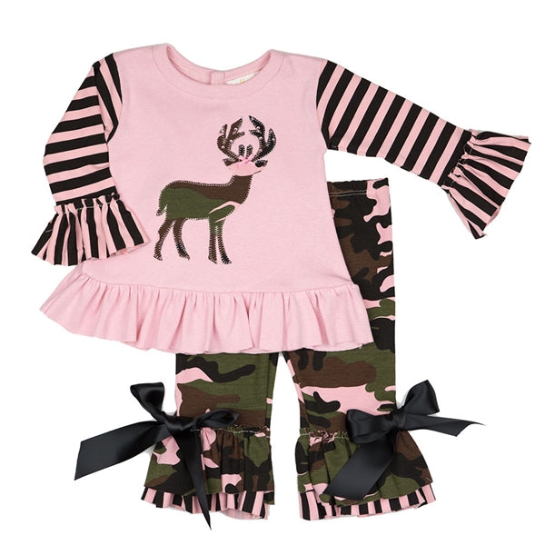 Haute Baby Daddy's Little Dear Tunic Set | FALL 2018 PREORDERS