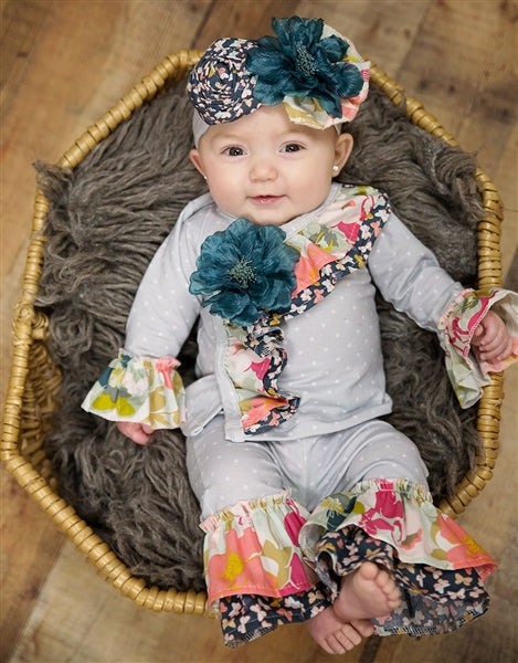 Haute Baby Gracie's Garden Criss Cross Set | FALL 2018 PREORDERS
