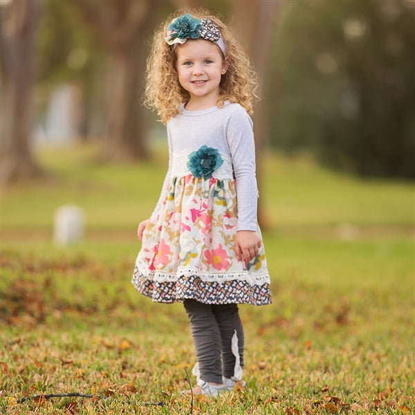 Haute Baby Gracie's Garden Dress | FALL 2018 PREORDERS
