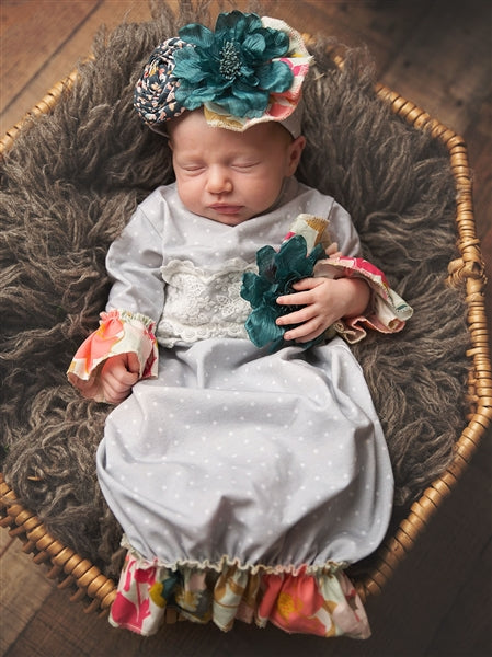 Haute Baby Gracie's Garden Gown | FALL 2018 PREORDERS
