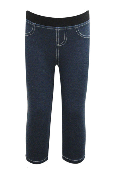 Hannah Banana Denim Capri Jeggings (sz 3t & 10)