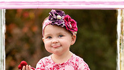Haute Baby Sadie Rose Headband (INF-GIRL)