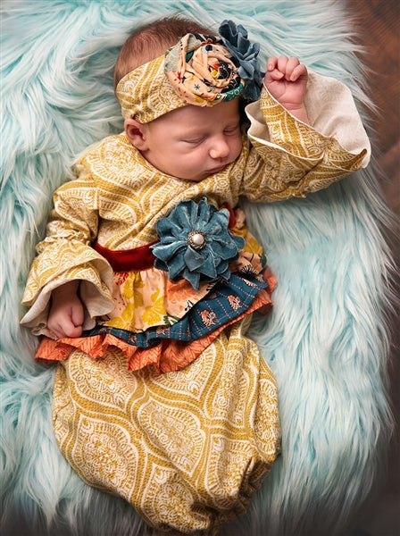 Haute Baby Harvest Time Gown | FALL 2018 PREORDERS
