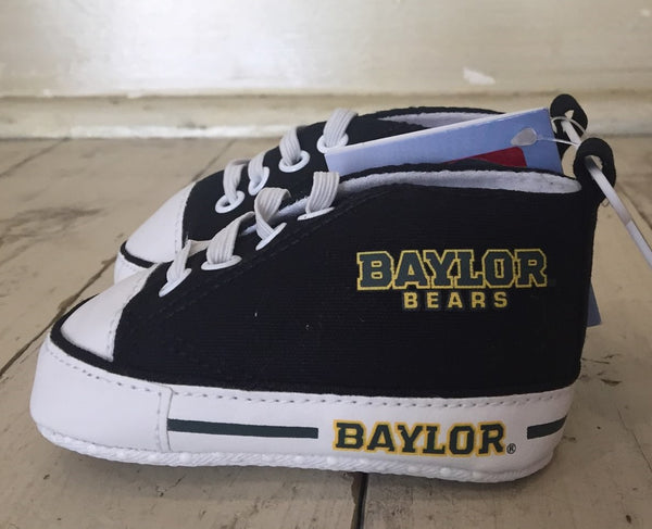 Baylor University High Top Prewalker Shoes (0-12m)