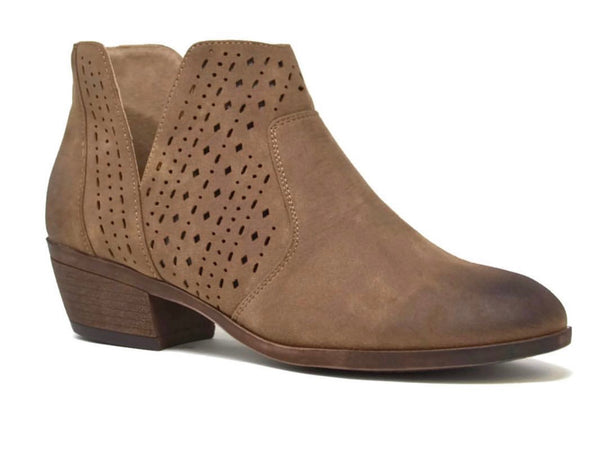 Mata Ankle Booties - Taupe