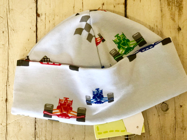 Kissy Kissy QT-QT Race Cars Hat