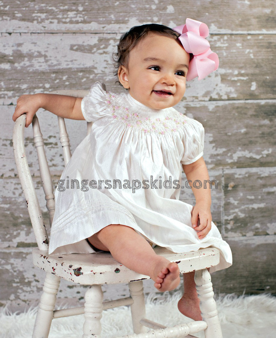 Gingersnap baby pink color dress