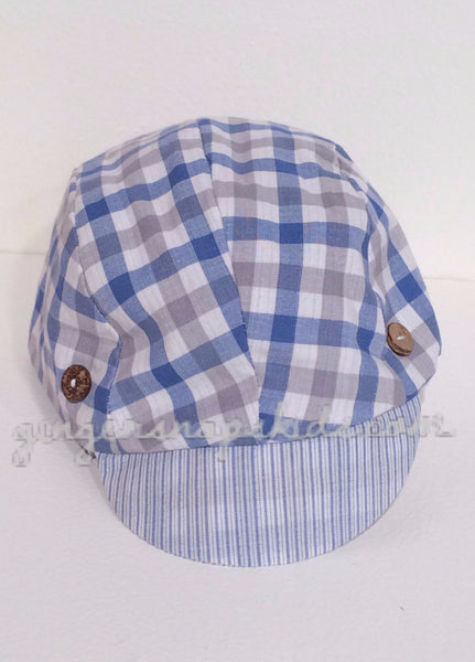 Cach Cach Little Mini Man Blue Cap Fall 2015 PREORDER
