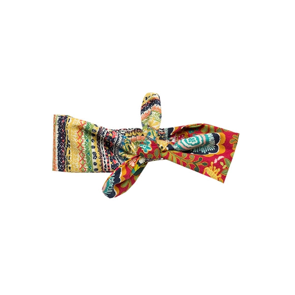 Haute Baby Girls Gypsy Autumn Bow (sz INF-TOD) | FALL 2018 PREORDER