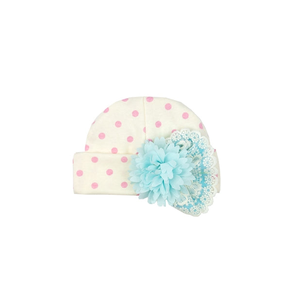 Merry Meadow Newborn Cap