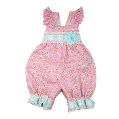 Merry Meadow Baby Girls Romper | PREORDER
