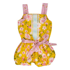 Merry Meadow Little & Big Girl Romper