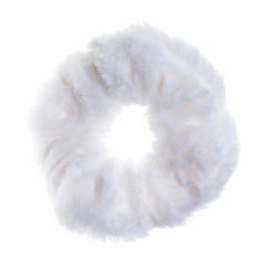 Milk White Hair Tie - Fuzz'd by Watchitude