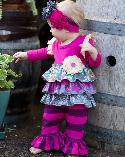 Giggle Moon Eternal Bliss Longall (sz NB-18m) FALL 2015 PREORDER