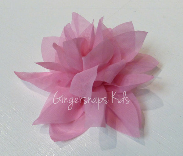 Cach Cach Jungle Queen Pink Flower Hair Clippie