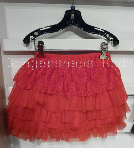 Haven Girl Red Ruffle Skort (sz 2-14)