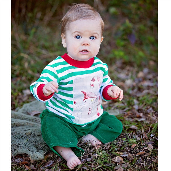 Haute Baby Boys Merry Merry Pants Set (sz 0/3m-4T) FALL 2016 PREORDER