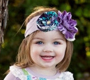 Haute Baby Plum Perfect Headband (INF-GIRL)