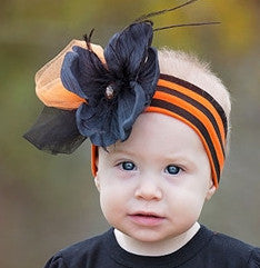 Haute Baby Pumpkin Patch Princess Headband (INF-TOD)