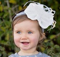 Haute Baby Winter Pearl Headband (INF-GIRL)