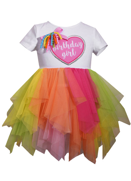 Bonnie Jean Infant Birthday Girl Tutu