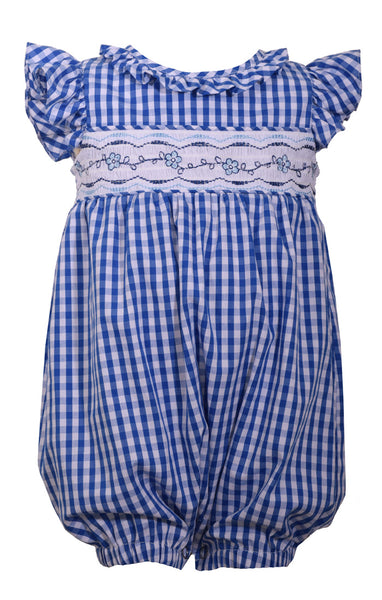 Smocked Gingham Bubble | PREORDER