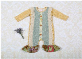 Giggle Moon Sea of Glass Longall (sz NB-18m) FALL 2016 PREORDER